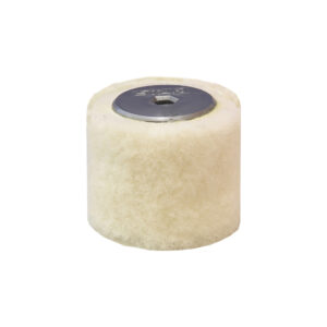 Spazzola rotante lana